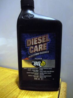 Сервис №3 Чистка топливной магистрали дизеля. BG DIESEL CARE injection cleaner 22932E.