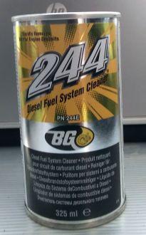 Сервис №4 Чистящая присадка в дизельное топливо BG 244 Diesel Fuel System Cleaner